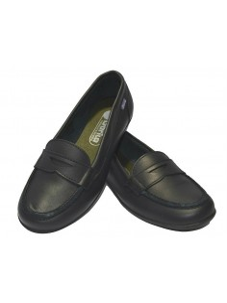 zapato mocasin colegial para niñas gorila 20652 marino