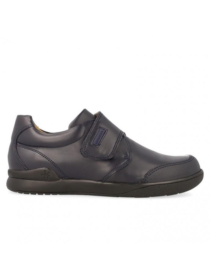 Zapato colegial niño biomecanics con puntera de goma modelo 161129 color marino