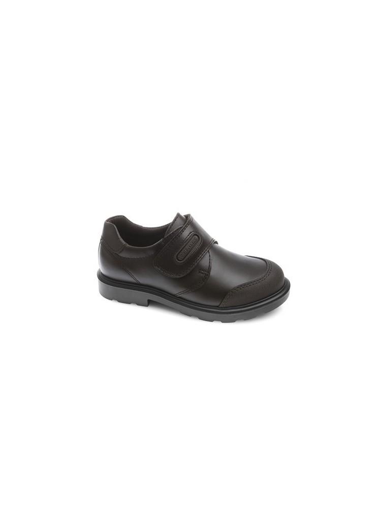 Nuevo Zapato colegial con puntera reforzada de PABLOSKY marron 715490