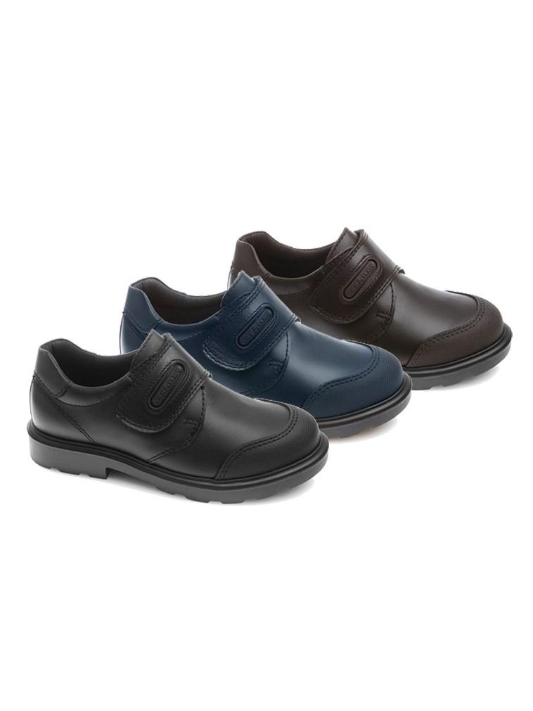 Nuevo Zapato colegial con puntera reforzada de PABLOSKY marino, marron y negro 715420, 715410,715490