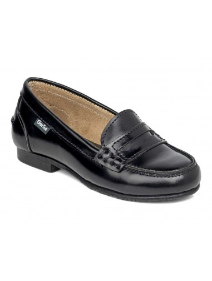 zapato castellano colegial para niñas de GORILA modelo 30400 lola color negro