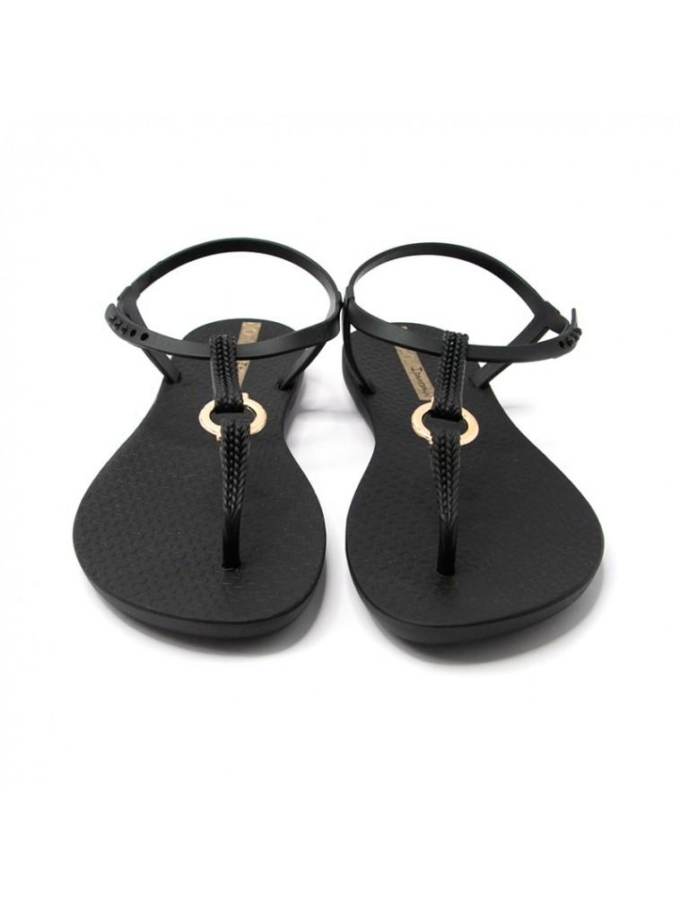 sandalia dedo ipanema negro