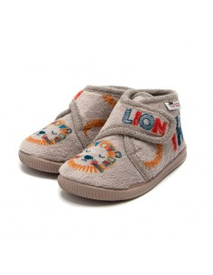 Zapatilla casa para niños lion the king vulladi 9107